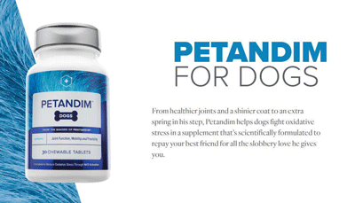 Petandim for Dogs Ad