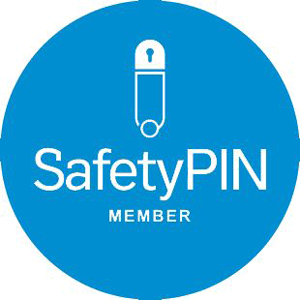 Safety Pin Member Logo